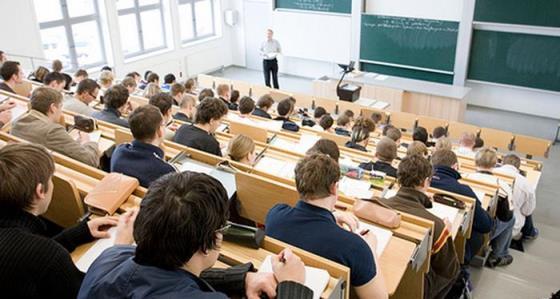 Лекция в полной аудитории