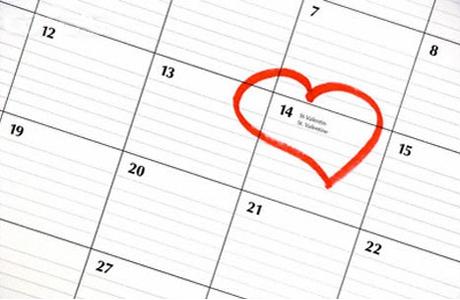 Выделяем день в календаре